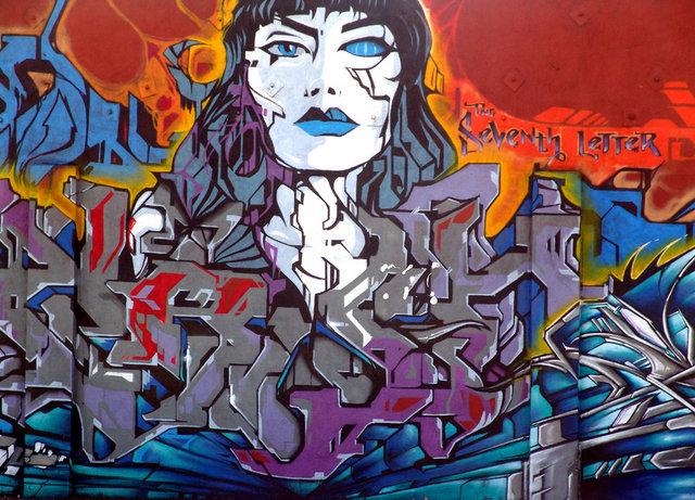 Десятка граффити столиц мира