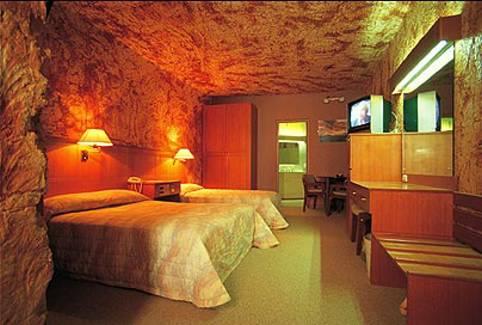 отель под землей